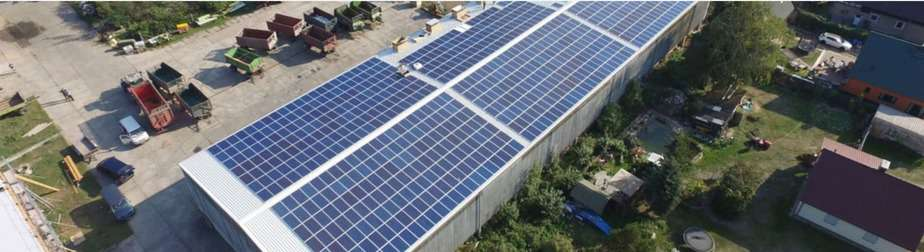 Dach vermieten für Photovoltaik Referenz