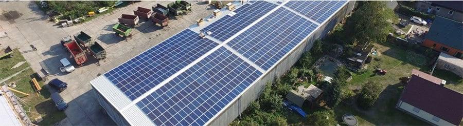 Dach vermieten für Photovoltaik (PV-Anlage) Referenz