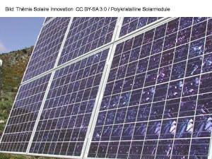 Polykristalline Solarmodule
