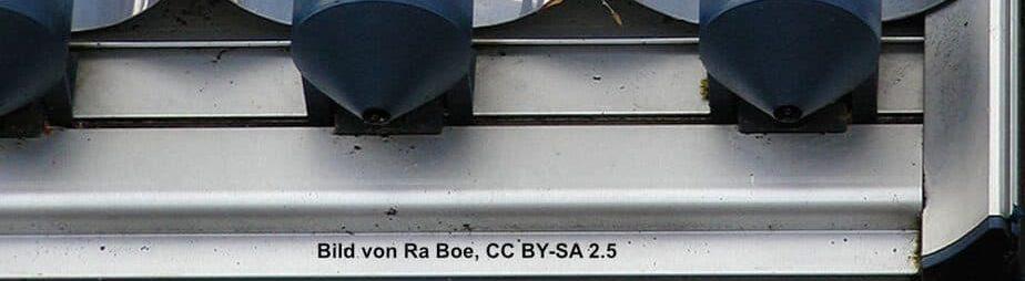 Vakuumroehrenkollektor Solarthermie