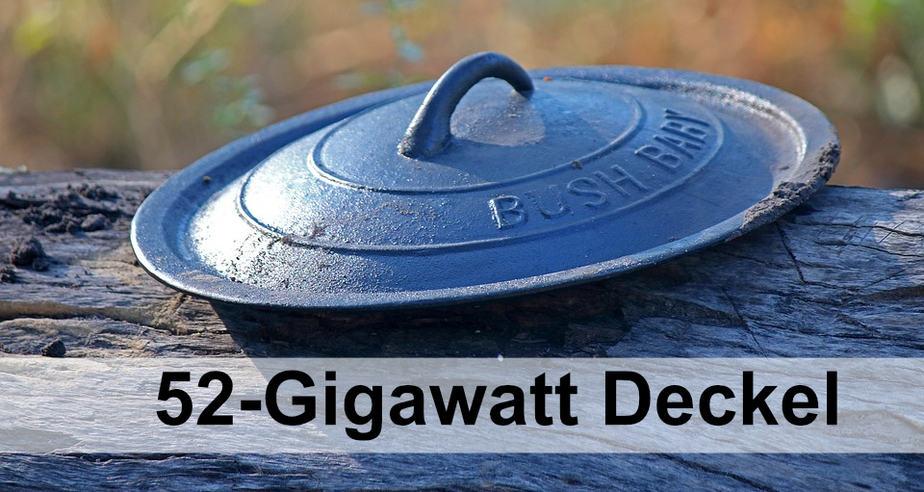 52-Gigawatt-Deckel für Photovoltaik